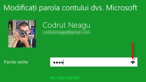 Cum faci ca Windows 8 să afișeze temporar parola pe care tocmai ai tastat-o?