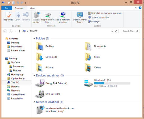 Windows 8.1, Public Preview, Windows Blue, caracteristici, imbunatatiri