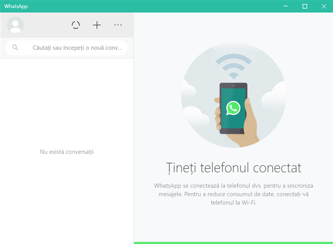 Folosește WhatsApp Desktop pentru Windows 10