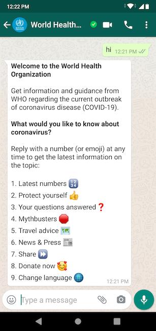 Urmează instrucțiunile pentru a accesa informația de care ai nevoie