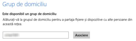 Prezentare Windows 8: Cum setăm Partajarea prin Grupul de domiciliu din Setări PC