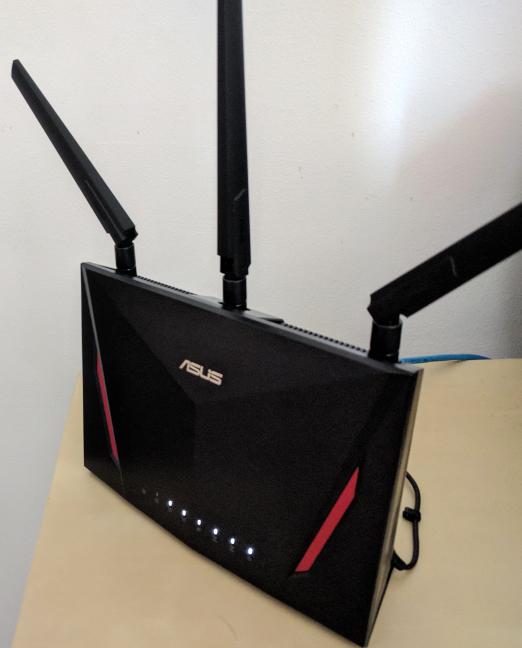 Routerul wireless ASUS RT-AC86U AC2900
