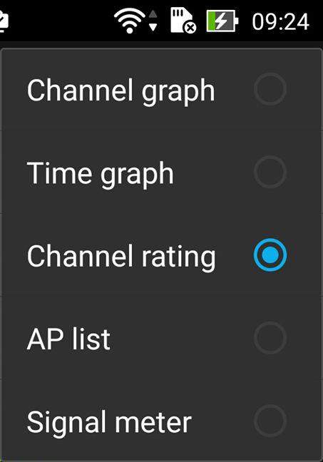 Wifi Analyzer, canale, retea, wireless, analiza, Android, recomandari