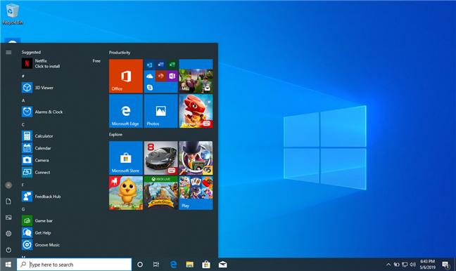Windows 10 instalat pe curat conține prea mult bloatware