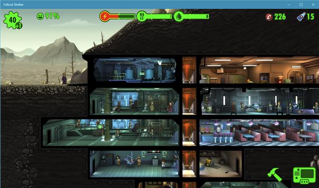 Descarcă un joc de PC gratuit pentru Windows 10: Fallout Shelter