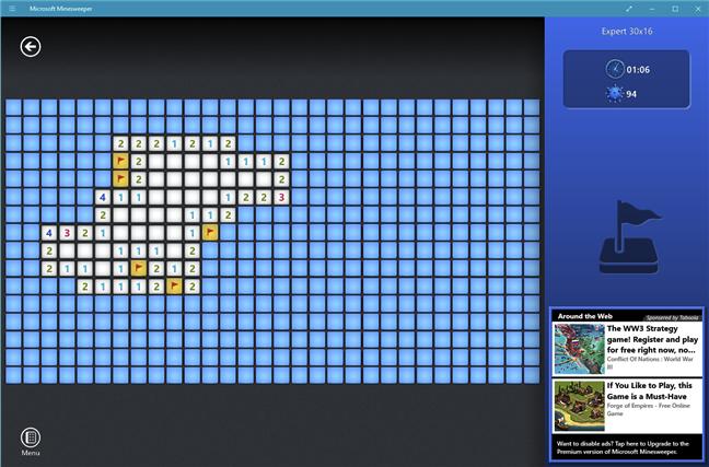 Descarcă un joc de PC gratuit pentru Windows 10: Microsoft Minesweeper