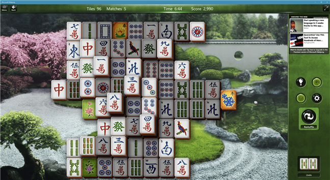 Descarcă un joc de PC gratuit pentru Windows 10: Microsoft Mahjong