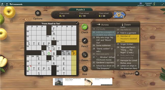 Descarcă un joc de PC gratuit pentru Windows 10: Microsoft Ultimate Word Games