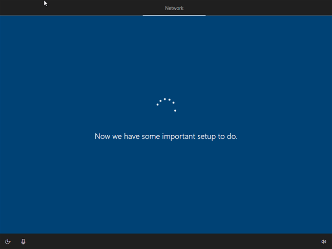 Instalarea Windows 10 verifică dacă există actualizări disponibile