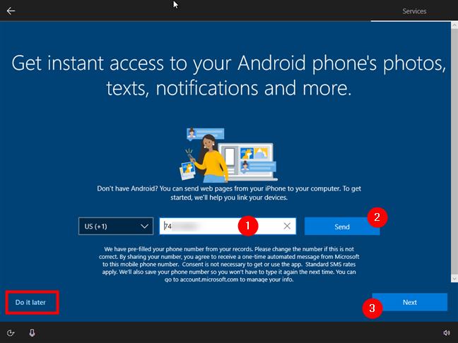 Asocierea smartphone-ului tău cu PC-ul cu Windows 10