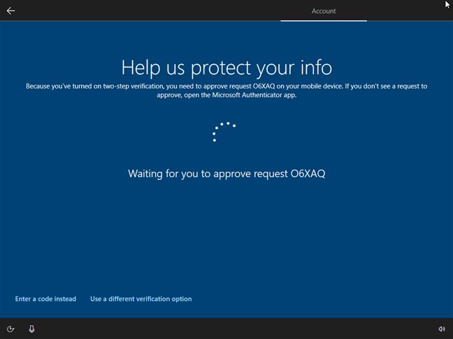 Utilizarea aplicației Microsoft Authenticator pentru a-ți confirma identitatea