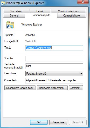 Windows Explorer, folder, deschide, Windows 7