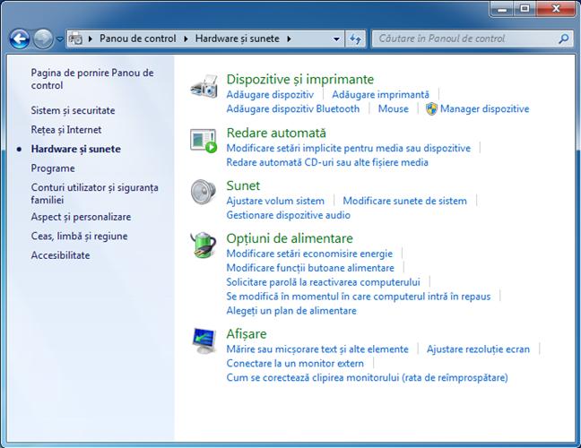 Windows, imprimanta