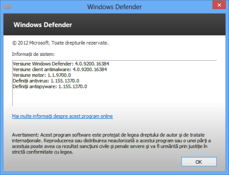 Windows Defender în Windows 8 și Windows 7 – Ce e nou & Diferit?