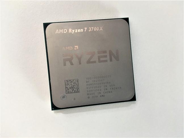 Un procesor AMD Ryzen 7 3700X