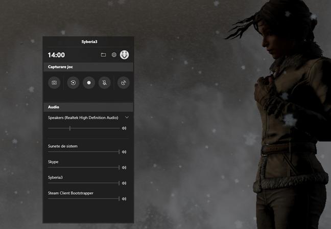 Noul Game Bar (Bara Jocuri) din Windows 10 October 2018 Update