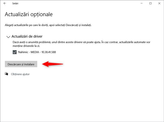 Windows 10 te lasă să alegi când și care actualizări opționale sunt instalate