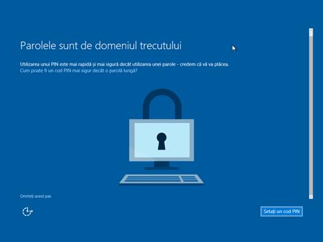Windows 10, instalare, iso, usb, curat, zero, personalizare, limba, romana
