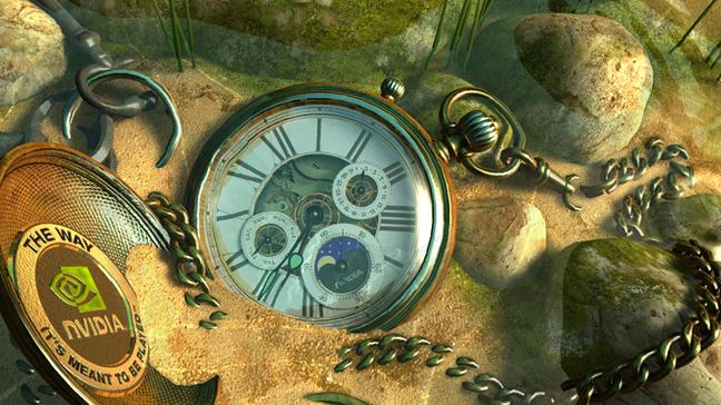Screensaver-ul Lost Watch 2 - Nvidia Edition