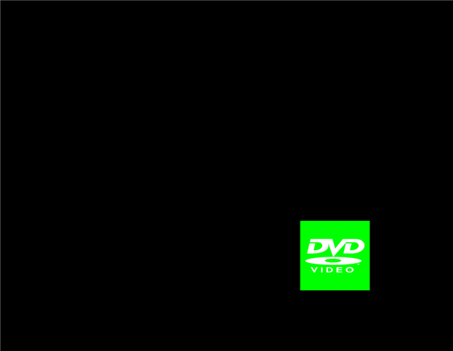 Screensaver-ul zz DVD