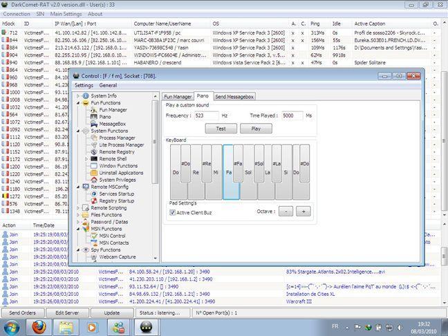 spioneaza, calculator, PC, Windows, keylogger, administrare, distanta, malware, RAT