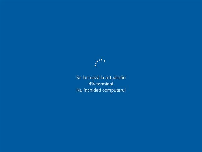 Windows 10 lucrează la actualizări