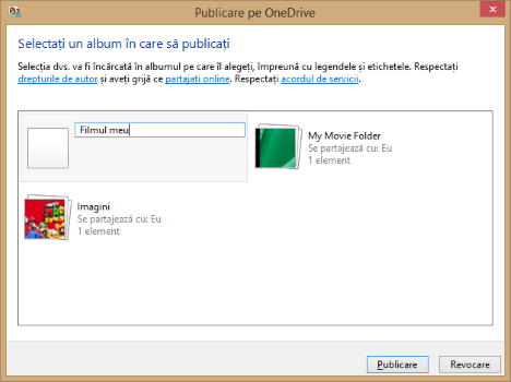 Movie Maker, OneDrive, sharing, video, upload