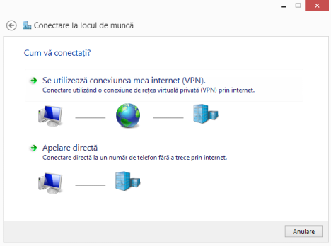 Windows 8, Windows 8.1, VPN, retea, conexiune, configureaza