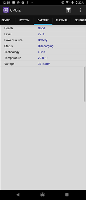 Detalii despre bateria lui Sony Xperia 10 II