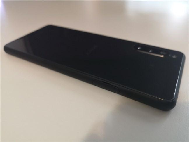 Sony Xperia 10 II: Vedere din spate