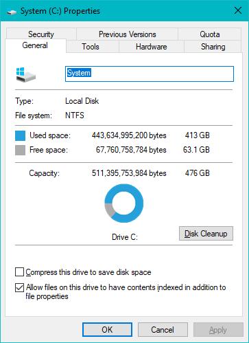 Proprietățile SSD-ului ADATA XPG Gammix S11 Pro