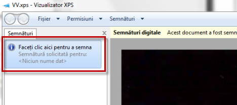 xps, semnare digitala, xps viewer