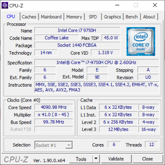Procesorul de pe ASUS ZenBook Pro Duo