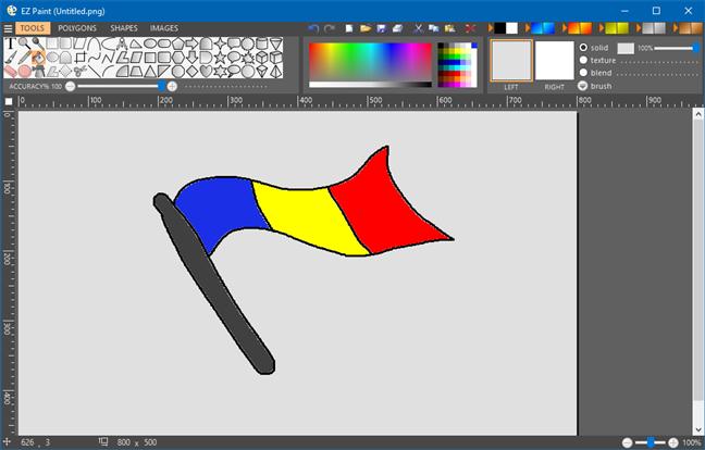 Alternativă Microsoft Paint: EZ Paint