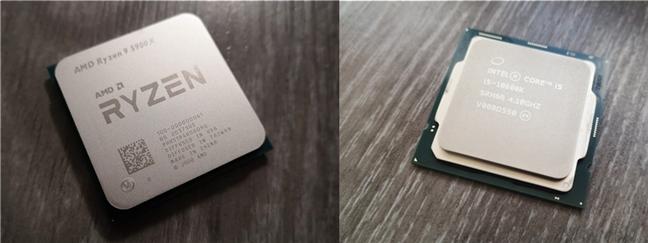 Un procesor AMD versus un INTEL Core