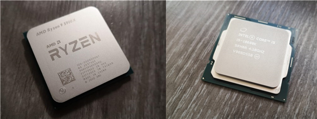 Un procesor AMD Zen 3 versus un INTEL Core din generația 10