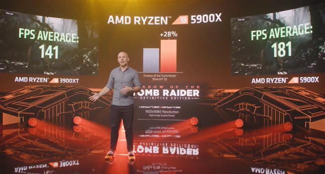 Performanțe benchmark AMD Ryzen 9 5900X în Shadow of the Tomb Raider