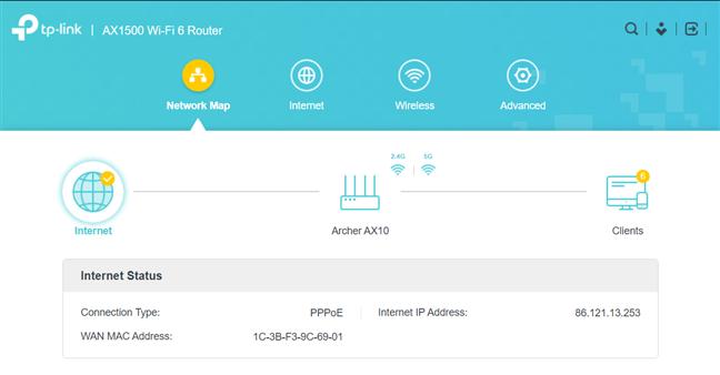 Firmware-ul de pe TP-Link Archer AX10