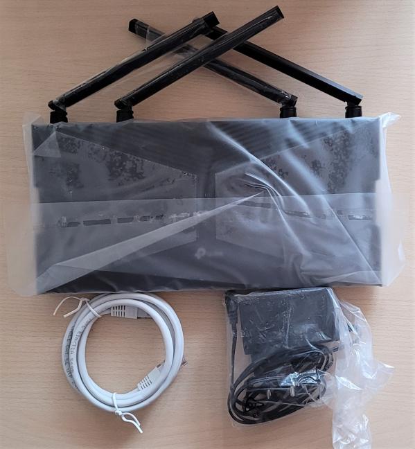 TP-Link Archer AX20 - Ce găsești în cutie