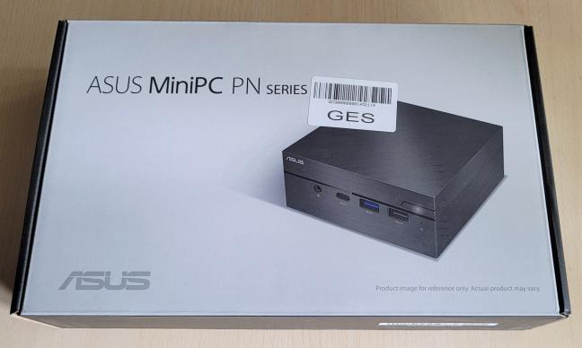 ASUS Mini PC PN62 vine într-o cutie simplă