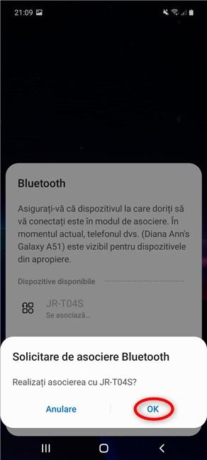 Cum adaugi un dispozitiv Bluetooth din setări rapide