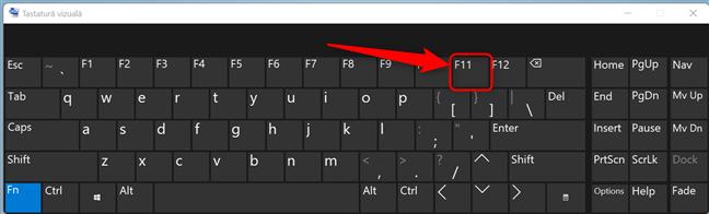 Apasă F11 pentru a intra în modul Ecran complet în Microsoft Edge