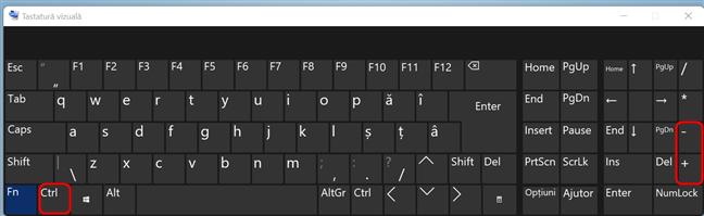 Redimensionează paginile web în Chrome folosind CTRL și + sau -