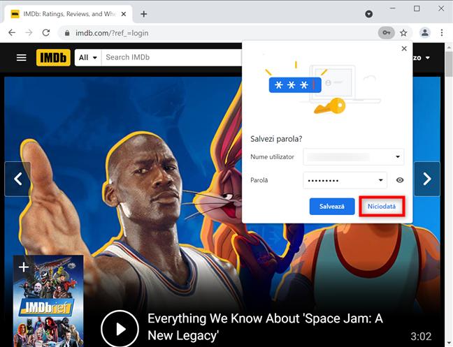 Cum oprești Chrome din a salva parole pentru site-uri în Windows și macOS