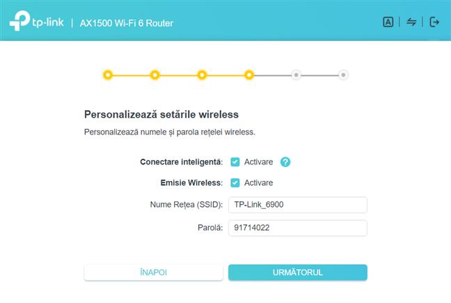 Personalizează setările wireless ale routerului TP-Link