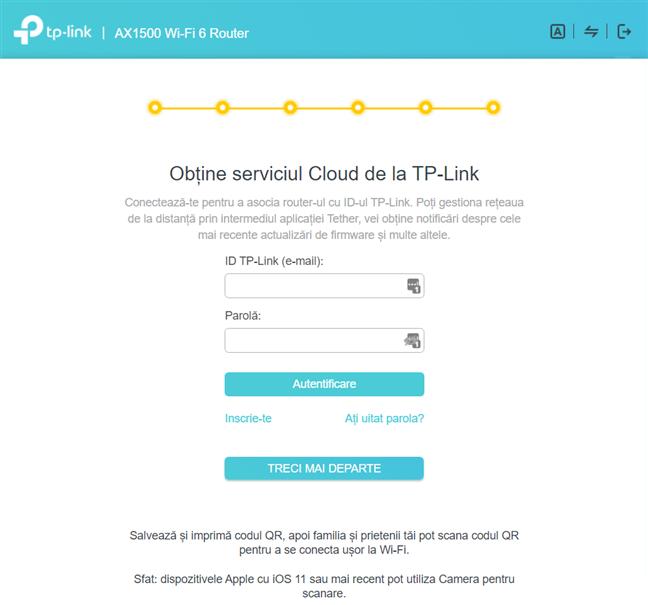 Adaugă un ID TP-Link la routerul tău