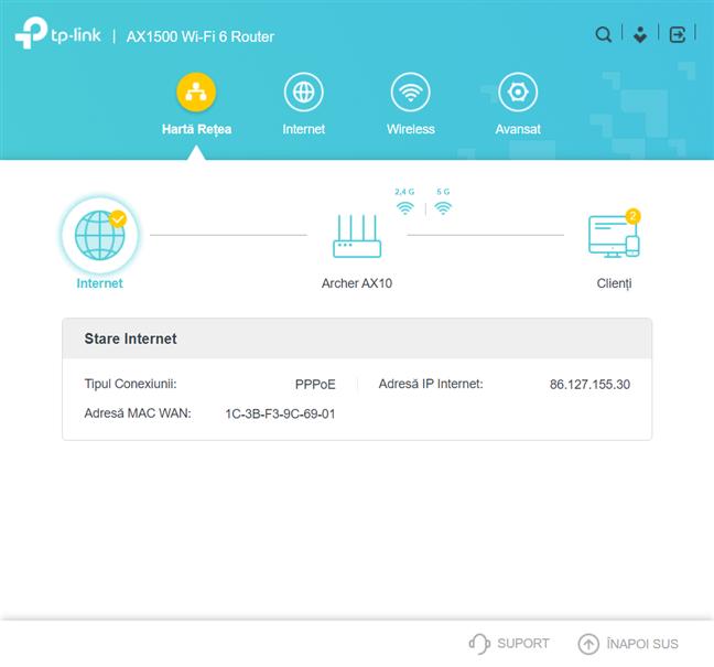 Firmware-ul routerului TP-Link