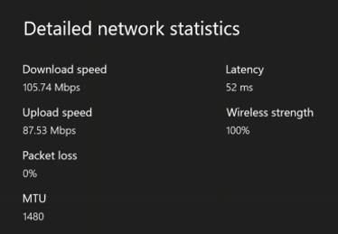 Viteza prin Wi-Fi pe care o ai pe Xbox One