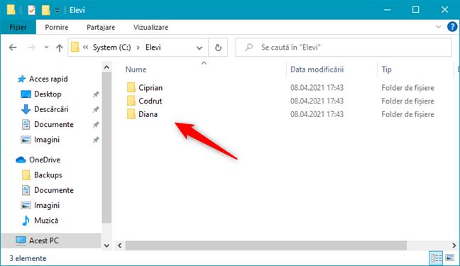 Multiple foldere create simultan