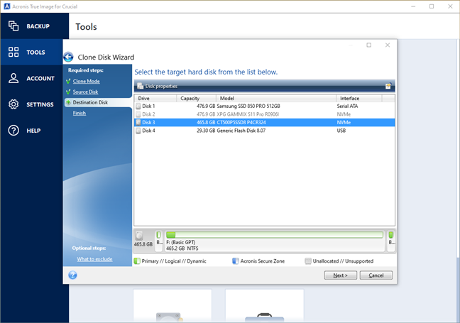 Acronis True Image for Crucial